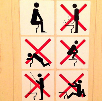 But the bathroom posters have nothing on the bathrooms themselves at least some of them  Here  39 s a photo that Steve Rosenberg  the BBC  39 s Moscow correspondent. Casey Research Blog   Sochi Bathroom Rules   Talkmarkets