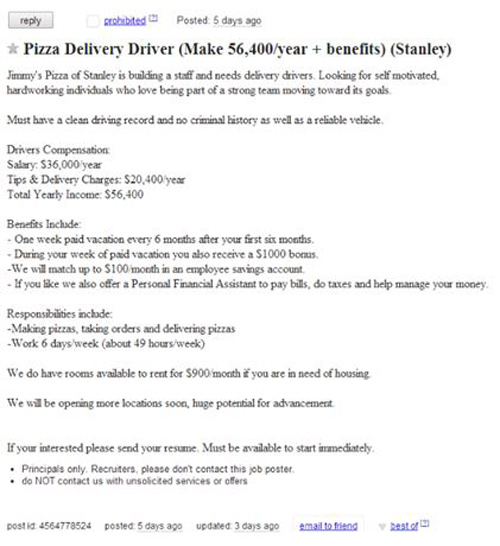 How to Get Paid $28/Hour for Delivering Pizzas