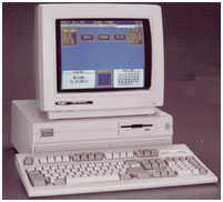 Tandy 1000 SL computer photo